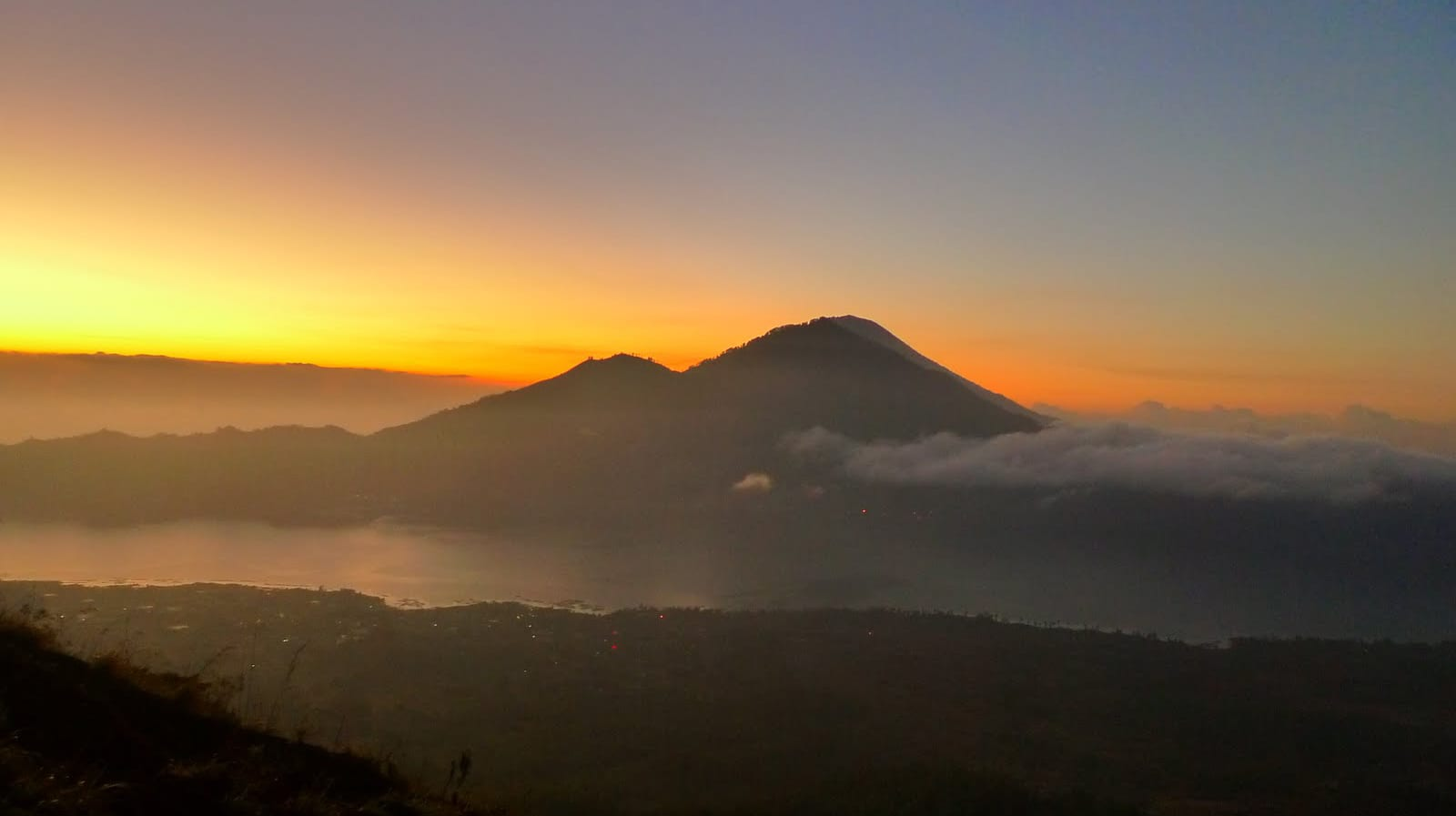 Mount Agung - Direction of North in Bali