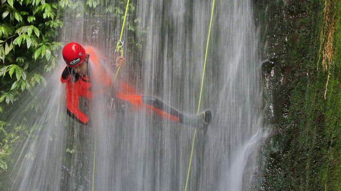Canyoneering in Bali - Bali for Adrenaline Junkies