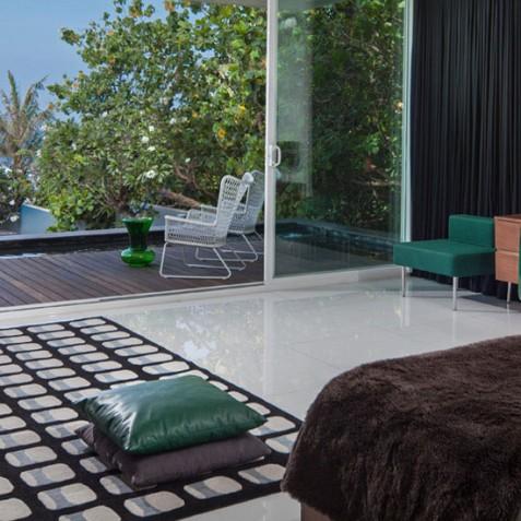Luna2 Private Hotel - Seminyak, Bali - Green Room