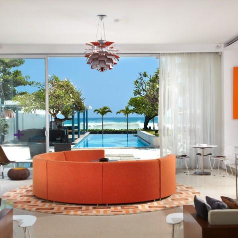 Luna2 Private Hotel - Lounge Area - Seminyak, Bali