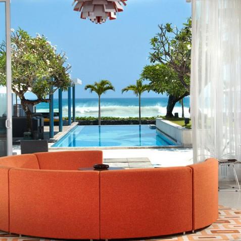 Luna2 Private Hotel - Seminyak, Bali - Lounge View