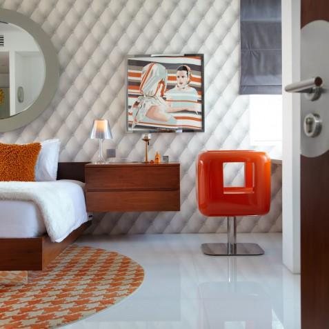 Luna2 Private Hotel - Orange Bedroom - Seminyak, Bali