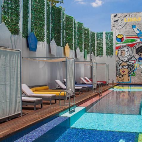 Luna2 Studiotel Bali - Poolside - Seminyak, Bali
