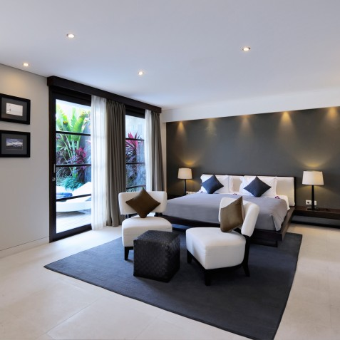 The Layar - 3 Bedroom Villa - Bedroom - Seminyak, Bali