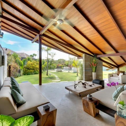 The Layar - 4 Bedroom Villa - Open Living - Seminyak, Bali