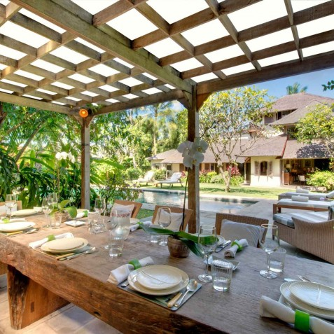 The Orchard House - Alfresco Dining - Seminyak, Bali
