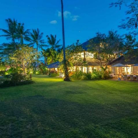 The Orchard House - Villa at Night - Seminyak, Bali
