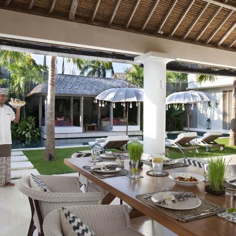 Villa Adasa - Dining Area - Seminyak, Bali