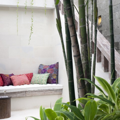Villa Adasa - Outdoor Alcove - Seminyak, Bali
