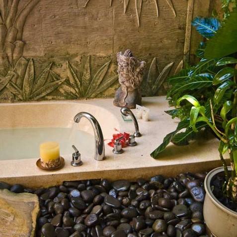 Villa Arika Bali - Open Air Bathroom - Canggu, Bali