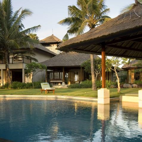 Villa Arika Bali - View from Pool - Canggu, Bali