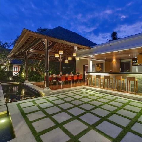 Villa Asta Bali - Bar and Grounds - Seminyak, Bali