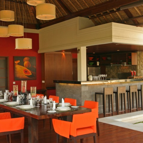 Villa Asta Bali - Dining Area and Bar - Seminyak, Bali