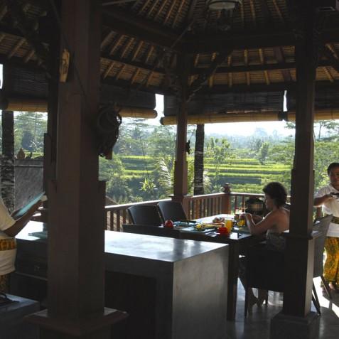 Villa Bayad Bali - Breakfast with a View - Ubud, Bali