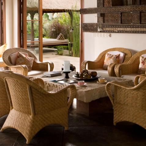 Villa Bayad Bali - Relaxation Area in Main House - Ubud, Bali