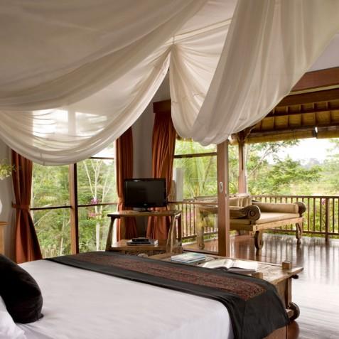 Villa Bayad Bali - Tenganan House Bedroom - Ubud, Bali