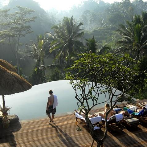 Villa Bayad Bali - Views from Pool - Ubud, Bali