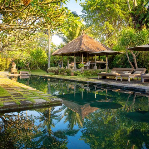 Villa Belong Dua - Seseh-Tanah Lot, Bali - Bale and Pool