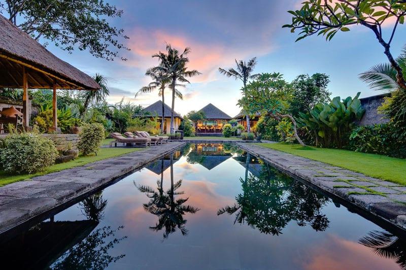 Villa Belong Dua - Seseh-Tanah Lot, Bali - Sunrise