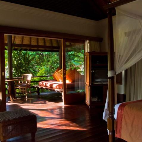 Villa Bougainvillea Bali - Guest Suite Terrace - Canggu, Bali
