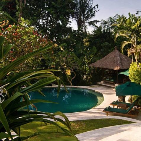 Villa Bougainvillea Bali - View from Living Room - Canggu, Bali