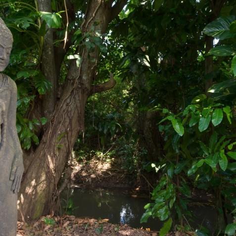Villa Bunga Pangi Bali - Garden Statue - Canggu, Bali