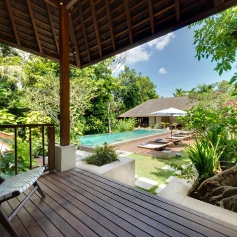 Villa Bunga Pangi Bali - Guest Suite Terrace - Canggu, Bali