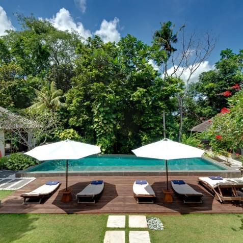Villa Bunga Pangi Bali - View from Living Area - Canggu, Bali