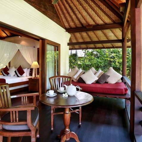 Villa Bunga Wangi Bali - Lotus Suite Balcony - Canggu, Bali