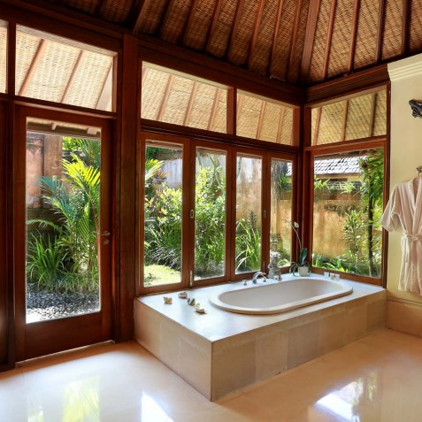 Villa Bunga Wangi Bali - Lotus Bathroom - Canggu, Bali