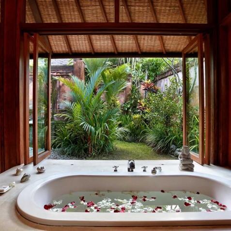 Villa Bunga Wangi Bali - Lotus Suite Bath - Canggu, Bali