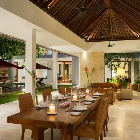 Villa Casa Brio - Dining Area - Seminyak, Bali