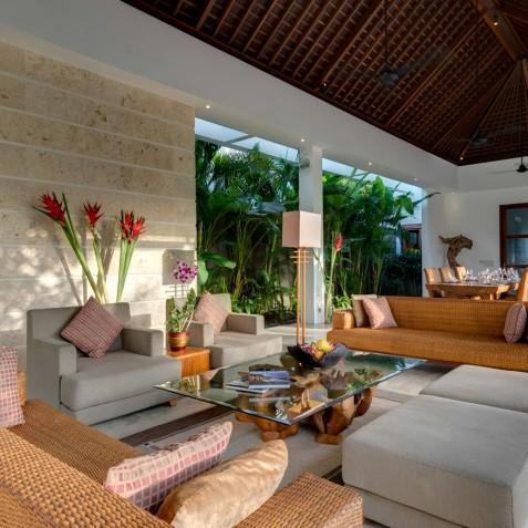 Villa Casa Brio - Open Plan Living Area - Seminyak, Bali