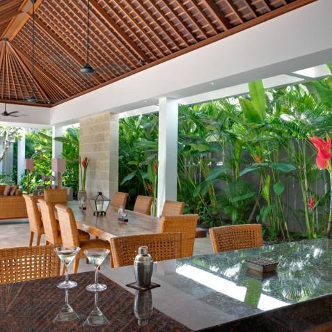 Villa Casa Brio - Open Plan Living Pavilion - Seminyak, Bali