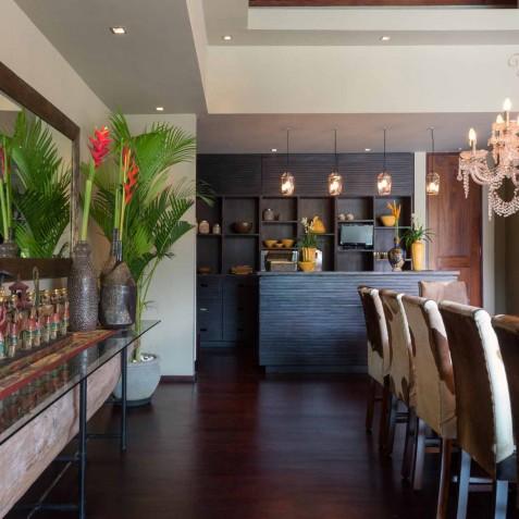 Villa Eshara I - Bar and Dining Area - Seminyak, Bali