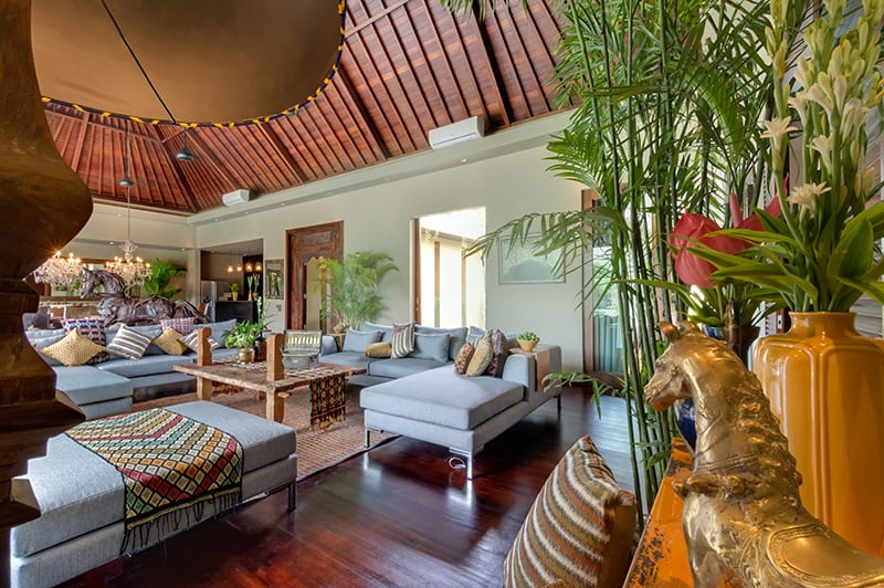 Villa Eshara I Bali - Indoor Living Area - Seminyak, Bali