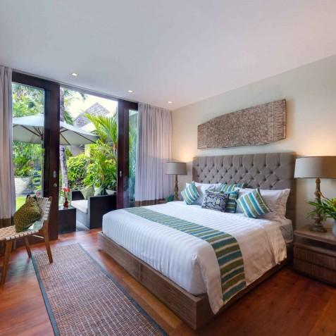 Villa Eshara II - Master Bedroom - Seminyak, Bali