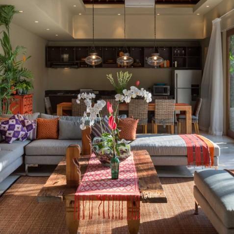 Villa Eshara III - Indoor Living Area - Seminyak, Bali