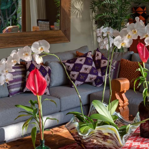 Villa Eshara III - Outdoor Living Area - Seminyak, Bali