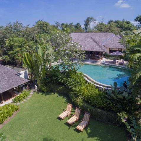 Villa Frangipani Bali - Aerial View - Canggu, Bali