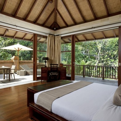 Villa Iskandar Bali - Seseh-Tanah Lot, Bali - Master Bedroom View