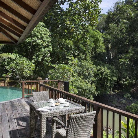 Villa Iskandar Bali - Seseh-Tanah Lot, Bali - Riverside Deck