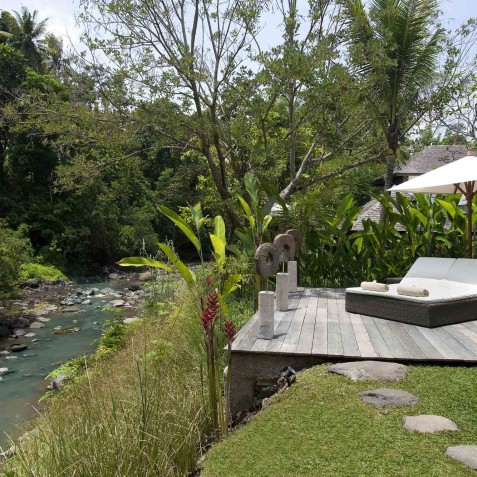 Villa Iskandar Bali - Seseh-Tanah Lot, Bali - Riverside View