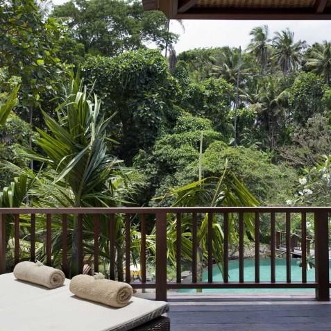 Villa Iskandar Bali - Seseh-Tanah Lot, Bali - Upstairs Deck
