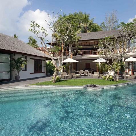 Villa Iskandar Bali - Seseh-Tanah Lot, Bali - View of Villa