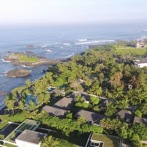 Villa Jagaditha Bali - Aerial View - Canggu, Bali