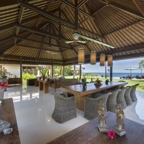 Villa Jagaditha Bali - Open Dining and Living Area - Canggu, Bali