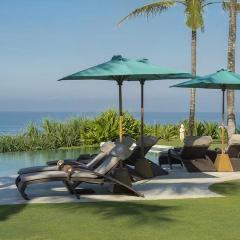 Villa Jagaditha Bali - Morning by Pool - Canggu, Bali