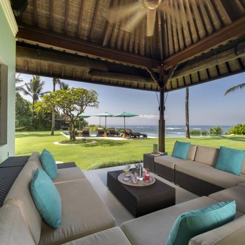 Villa Jagaditha Bali - Outdoor Lounge - Canggu, Bali