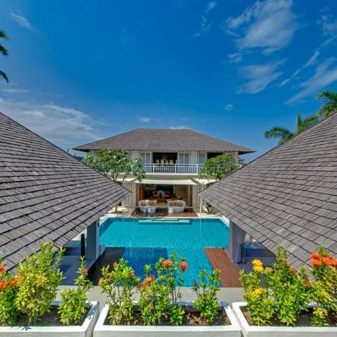 Villa Jajaliluna - Aerial View - Seminyak, Bali